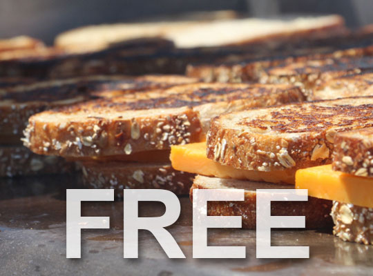 What's Free at the Great Canadian Cheese Festival