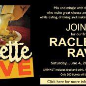 Raclette carousel